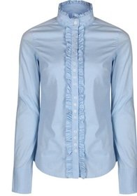 Dubarry Chamomile Frill Shirt - Blue